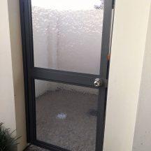 3mmDiamantina Slumped Clear Perspex- Residential Gate